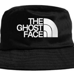 Черная панама The Ghost Face
