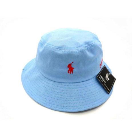 панама Polo голубая