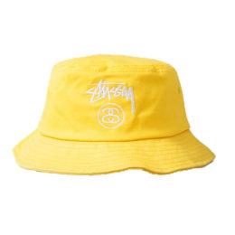 Панама Stussy желтая