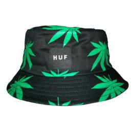 панама Huf зеленые листы