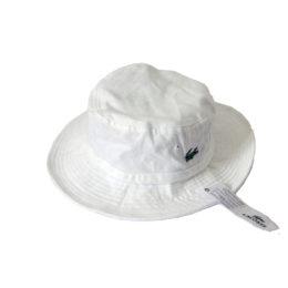 Панама Lacoste белая