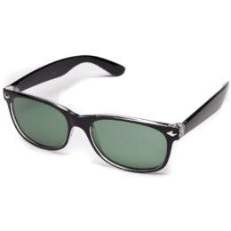 Солнцезащитные очки wayfarer чёрные