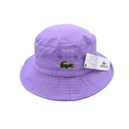 Фиолетовая панама Lacoste